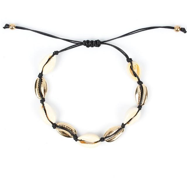 Купить браслеты анклеты женские с ракушками модные летние пляжные ювелирные картинки