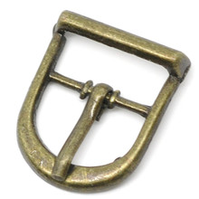 30Pcs Vintage Buckles Clasps DIY Shoes Bags Accessory Bronze Tone 22x19mm(7/8x6/8)
