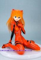 16 cm figura Japonesa del anime Evangelion Souryuu Asuka Langley Gekijouban Shin sentado Ver figura de acción de colección figura de acción
