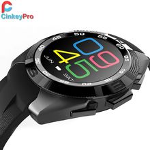 Cinkeypro smart watch hombres g5 ips podómetro del ritmo cardíaco del deporte salud smartwatch para iphone ios android huawei usable dispositivos