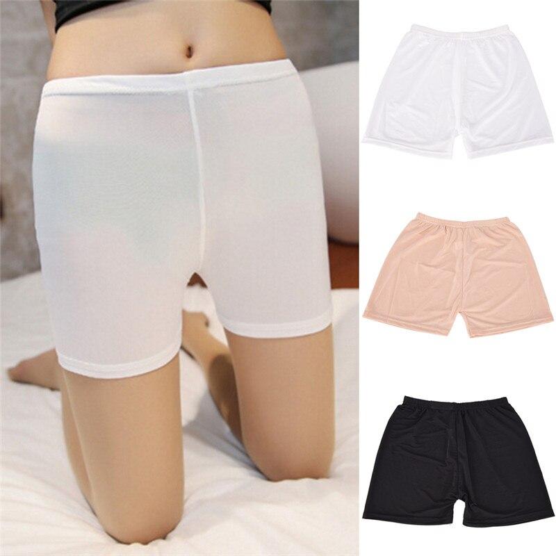 100% Wahr Frauen Sexy Spitze Hosen Unterwäsche Schwarz Weiß Natual Freies Größe Mode Sicherheits Kurze Hosen NüTzlich FüR äTherisches Medulla