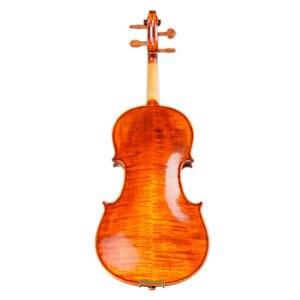 Image 2 - כינורות מקצועי מחרוזת מכשירי כינור 4/4 טבעי פסים מייפל Violon מאסטר יד קרפט Violino עם מקרה קשת רוזין