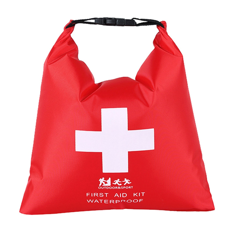 Waterproof First Aid Kit Bag Portable Emergency Kits Case Only For Outdoor Camp Travel Emergency Medical Treatment