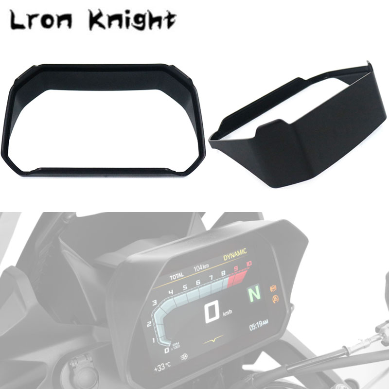 For BMW R1200GS F850GS F750GS F 850GS 750GS 1250GS Motorcycle Adventure 2018 2019 Speedometer sun visor with protection filmFor BMW R1200GS F850GS F750GS F 850GS 750GS 1250GS Motorcycle Adventure 2018 2019 Speedometer sun visor with protection film