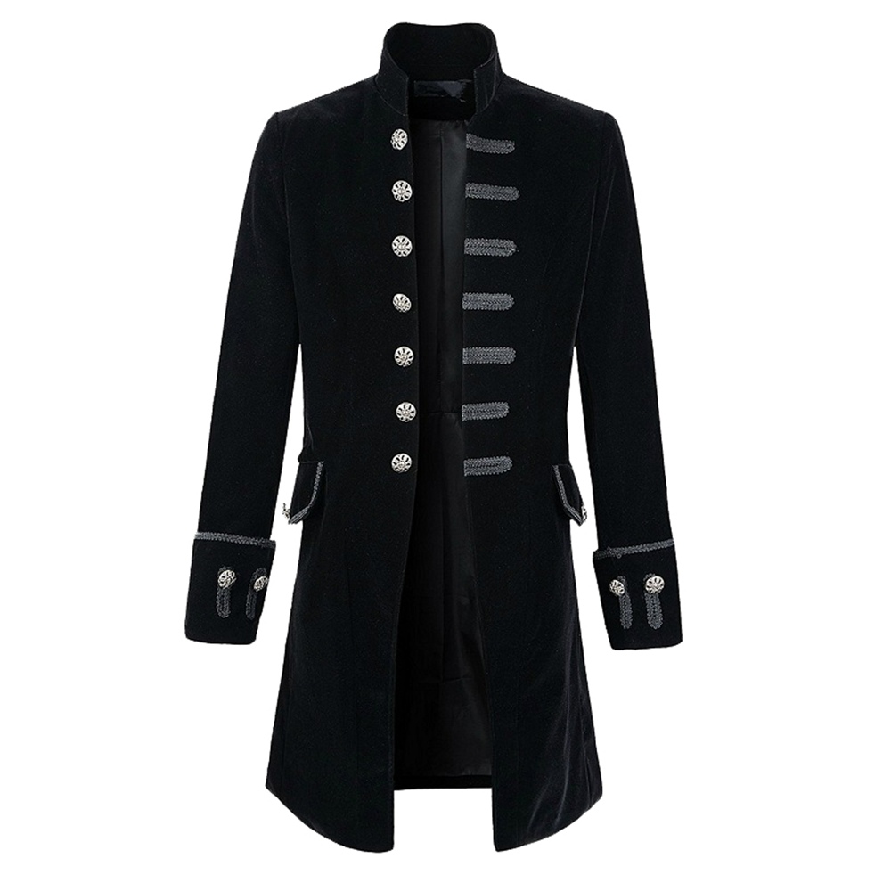 Helisopus hommes mode Punk Style vestes automne Vintage à manches longues gothique Halloween veste tenues manteau-in Trench from Vêtements homme on AliExpress - 11.11_Double 11_Singles' Day 1
