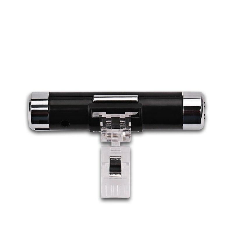 2 in 1 auto termomeetri kella automaatne taustvalgus lcd digitaalne - Auto salongi tarvikud - Foto 3
