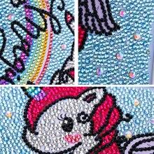 Diamont Mosaic  Unicorn DiamondArt Decor Gift
