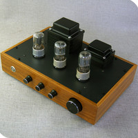 latest promotional crude wood case 6N8P tube preamplifier 6Z5P tube rectification Tube amp Tube preamplifier with Tone preamp