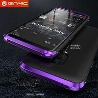 Luxury GINMIC Brand Case For Samsung Galaxy S9 Aluminum Metal Matte PC Slim Hard Back Cover