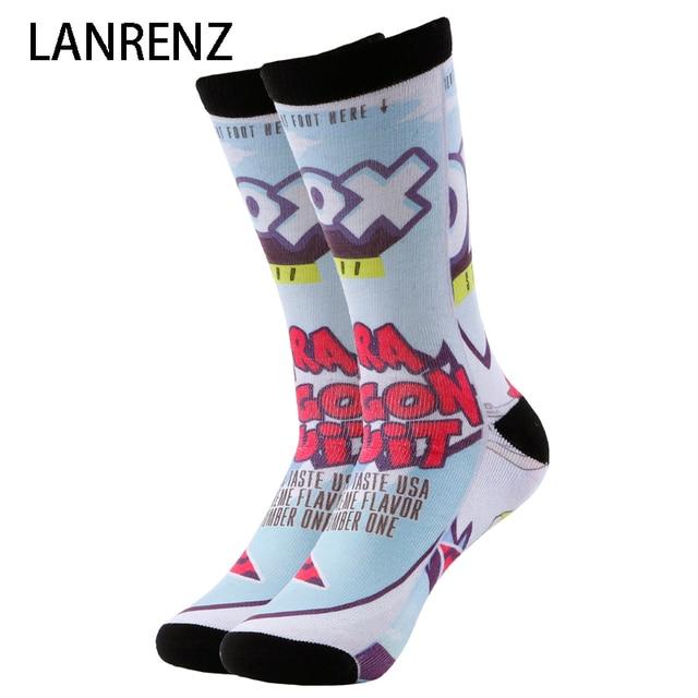 487e101c23a 2019 music Waves comic prints Men and women fashion Funny socks 3d printed  socks 200 knitting oil painting compression socks