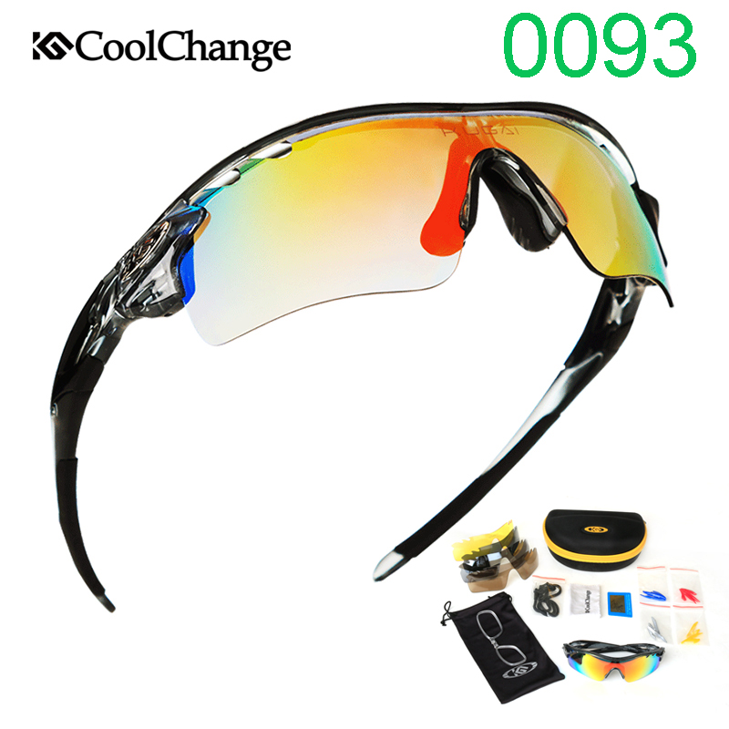 Cycling glasses Outdoor Sports Sunglasses 0095 Photochromic Polarized Bicycle glasses Bike Goggles Fishing Polarized glasses