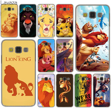 Lavaza The Lion King Grumpy Cat Simba Hard Case for Samsung Galaxy S10 S10E S8 Plus S6 S7 Edge S9 Plus Phone Cover