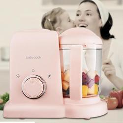Máquina de alimentación eléctrica para bebés, todo en uno, mezcladores para niños, procesador de vaporizador BPA, sin alimentos, AC 220- 240V vapor comida segura