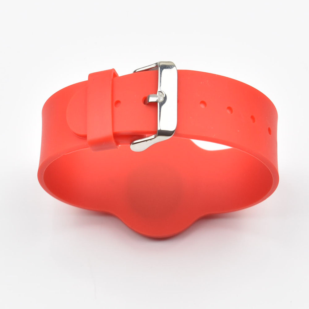 13.56MHz RFID Silicone Wristband Bracelet NFC Ntag215  Smart Proximity Card Waterproof For For All NFC Phone