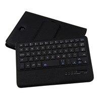 MOSUNX Futural Digital Folio Leather Case Bluetooth Keyboard For Samsung Galaxy Tab S2 8 0inch T710