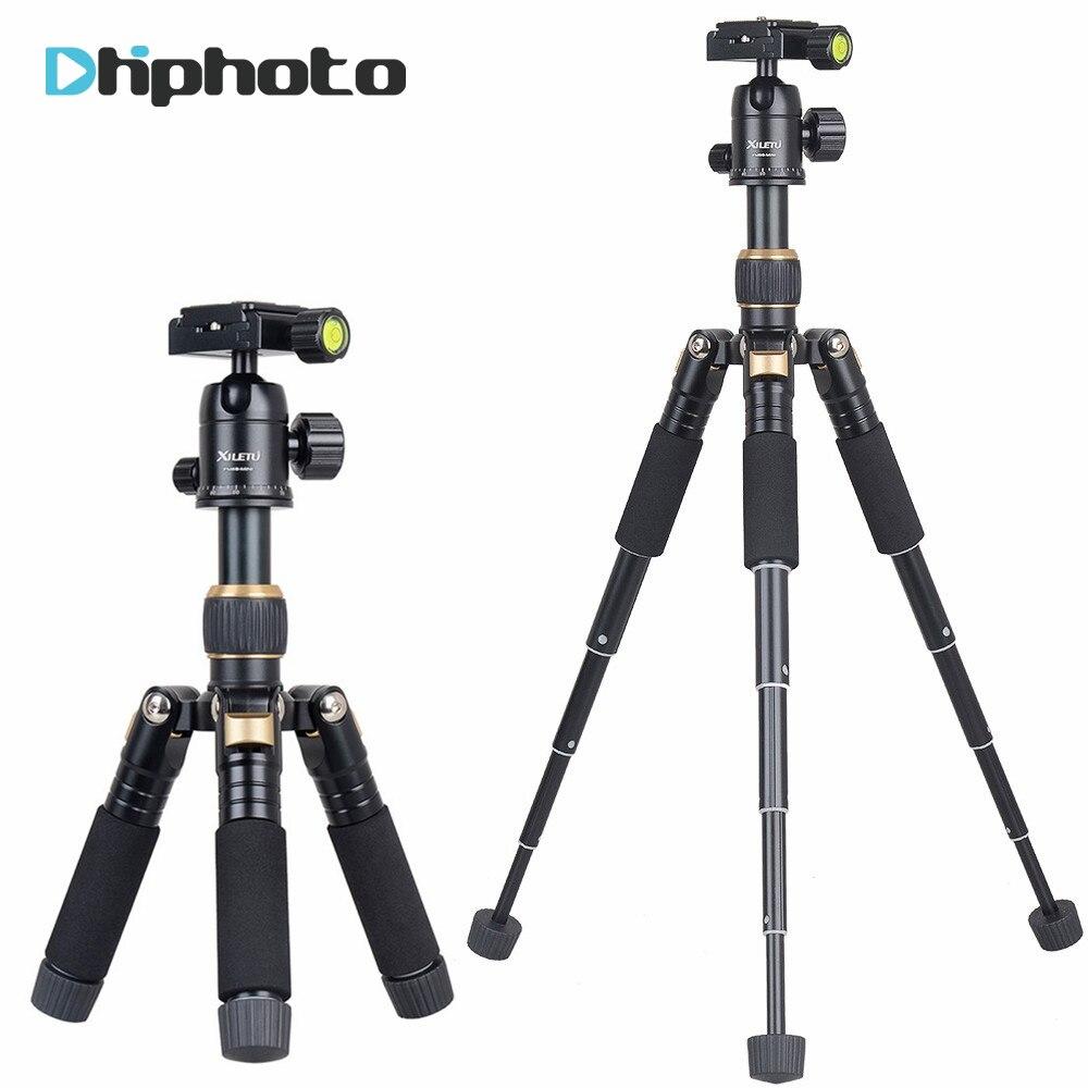 XILETU 20in Lightweight Desktop Tripod with 360 degree Ballhead &Protect Bag for Canon Nikon Sony Olympus DSLR Camera выключатель двухклавишный наружный бежевый 10а quteo