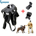 Go Pro Accessories Adjustable Dog Fetch Harness Chest Strap Belt Tripods Mount For GoPro Hero 4 3+SJ4000 Action Sport Camera