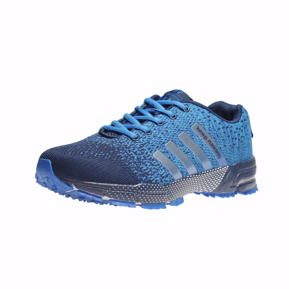 Deportes al aire libre Zapatos Venta caliente transpirable peso ligero Zapatos sneakers para hombres adultos entrenador de atletismo running Zapatos