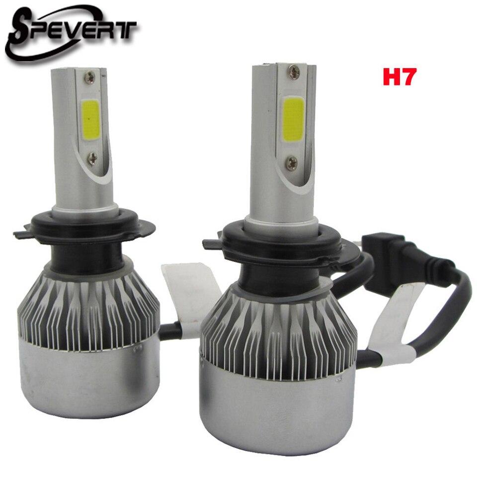 SPEVERT D1S/D3S D2S/D4S H7 H1 H8/H9/H1 H4/9003 COB LED Ampulle avant de voiture 110 watt 20000LM 6000 karat Ampulle auto 12 v Auto Scheinwerfer