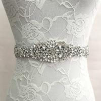 Trendy Magnificent Crystal Bridal Luxury Female Strap Floral Dress Women Belts Diamond Waistband Girdle Headband For