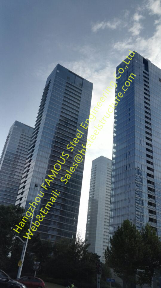 Commercial, Residential Multi-storey Steel Buildings And High Rise Building Contractor General China