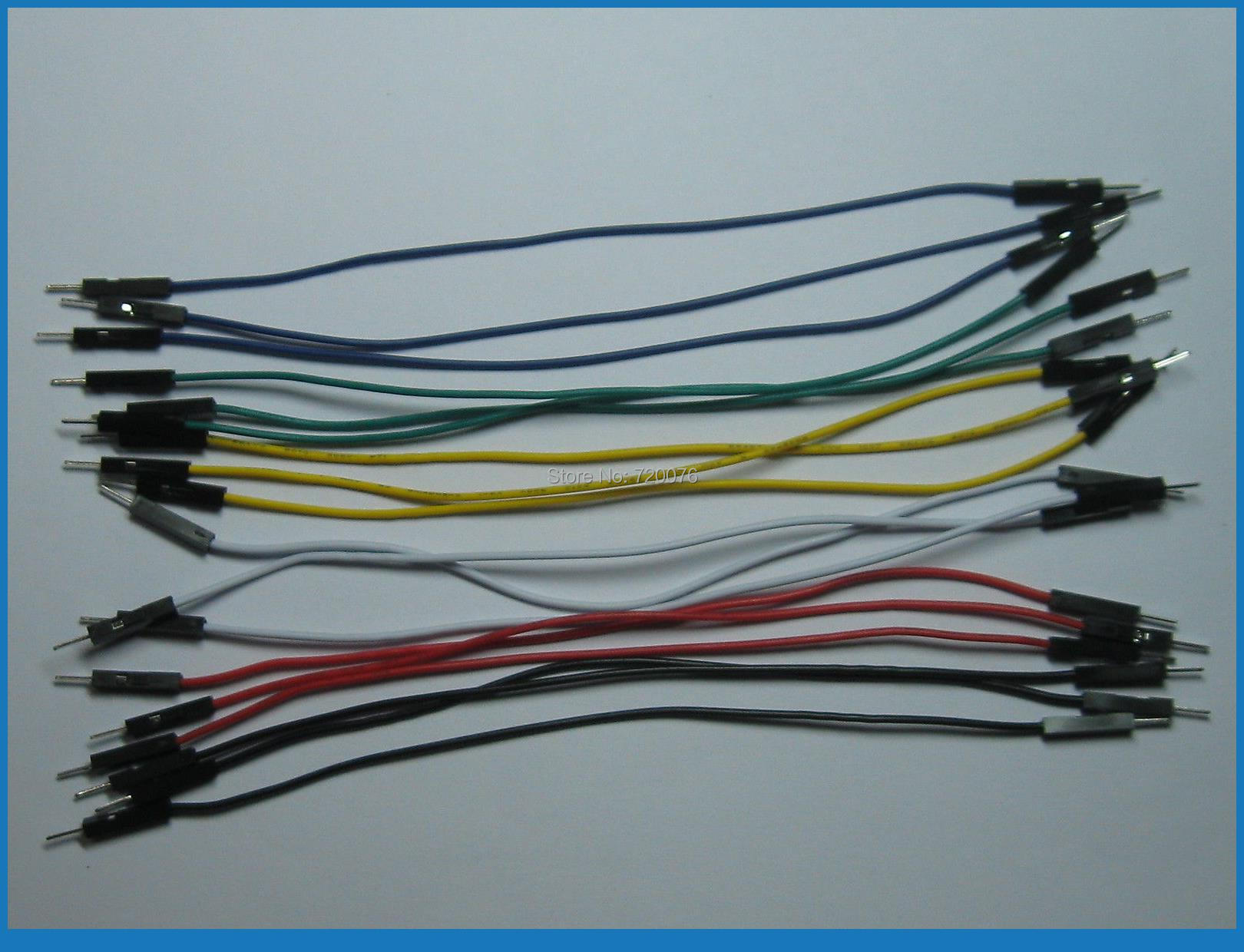 504 pcs Jumper wire Male to Male 1 Pin Pitch 2.54mm 6 colors 15cm(6)504 pcs Jumper wire Male to Male 1 Pin Pitch 2.54mm 6 colors 15cm(6)
