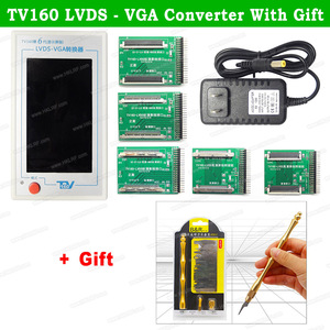 Image 5 - TV160 6th 7th Generation LVDS Turn VGA Converter With Display LCD/LED TV Motherboard Tester Mainboard Tool +  Multimeter/Scraper