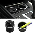 Copo De Armazenamento Cinzeiro Cinzeiro do carro Com LED para BMW 1 3 4 5 7 Série X1 X3 X5 X6 Nova Marca