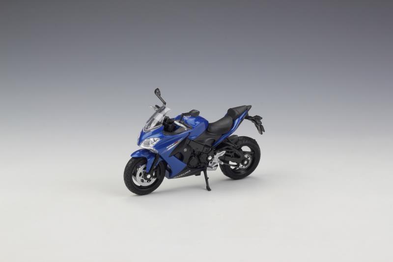 Welly 1:18 SUZUKI 2017 GSX-S1000F Motorcycle Bike Model Toy New In BoxWelly 1:18 SUZUKI 2017 GSX-S1000F Motorcycle Bike Model Toy New In Box