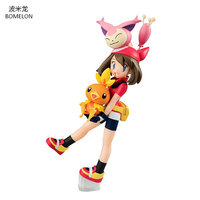 Sapphire Torchic Skitty Action Figures Saphir Poussifeu Anime Toy Figure Kawaii Model Brinquedos Boy Toys For