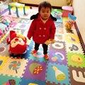 Детская мягкая eva головоломки мат детские игры ковер головоломки животные/письмо/мультфильм пены eva играть мат, коврик для игр детей ковры SGS