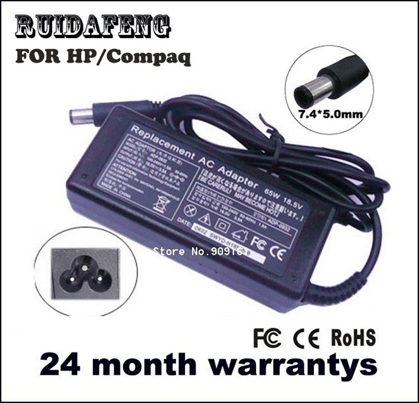 LAPTOP AC-ADAPTER 18.5V 3.5A 65W VOOR HP Compaq Pavilion DV3 DV4 DV5 - Notebook accessoires