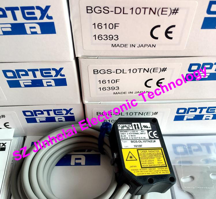 New and original  BGS-DL10TN(E)  OPTEX   Laser sensor, Photoelectric switch new and original zr 350n optex photoelectric switch photoelectric sensor