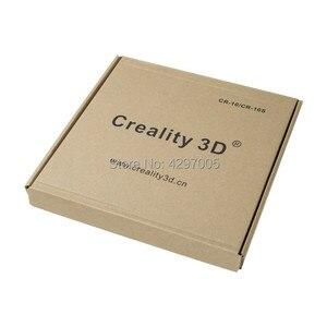 Image 4 - Yeni Creality 3D yazıcı siyah karbon silikon kristal yapı Hotbed platformu 310*310 MM cam Creality 3D CR 10/10S