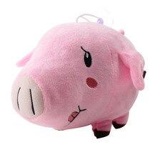 12 см, семь грехов, плюшевая игрушка, Meliodas Ban Hawk, свинья, гнев дракона, жадность лисы, мягкая плюшевая кукла в виде животного