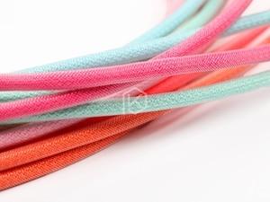 Image 2 - Цветной нейлоновый usb кабель с рукавами, позолоченные мини usb разъемы длиной 1,2 м, 6 цветов, синий, розовый, фиолетовый, оранжевый, бежевый, голубой