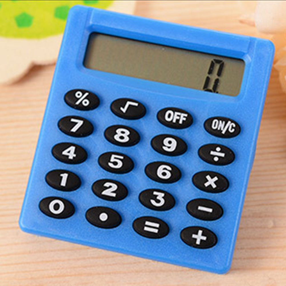 Candy Color Calculating Student Mini Electronic Calculator Office Supplies Digits Display Calculator