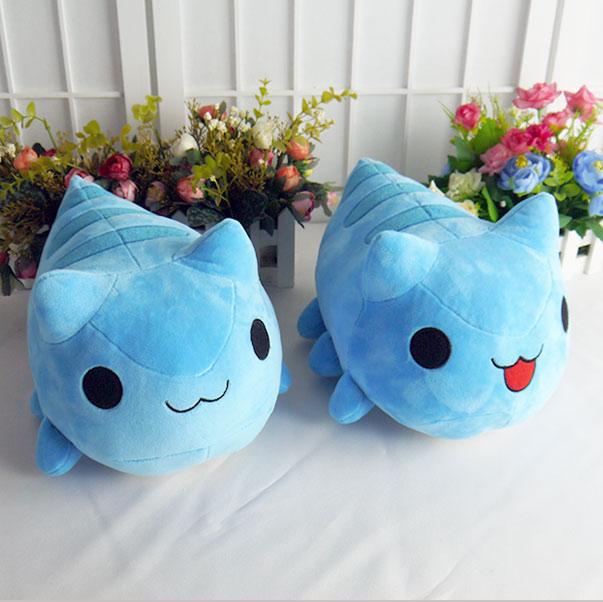 bugcat capoo cosplay blue cute cat toy anime 30cm stuffed plush