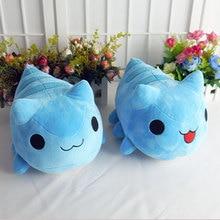 Bugcat Capoo Cosplay Kucing Biru Imut Mainan Anime 30 Cm Boneka dan Mewah  Kartun Boneka( 206eefd0de