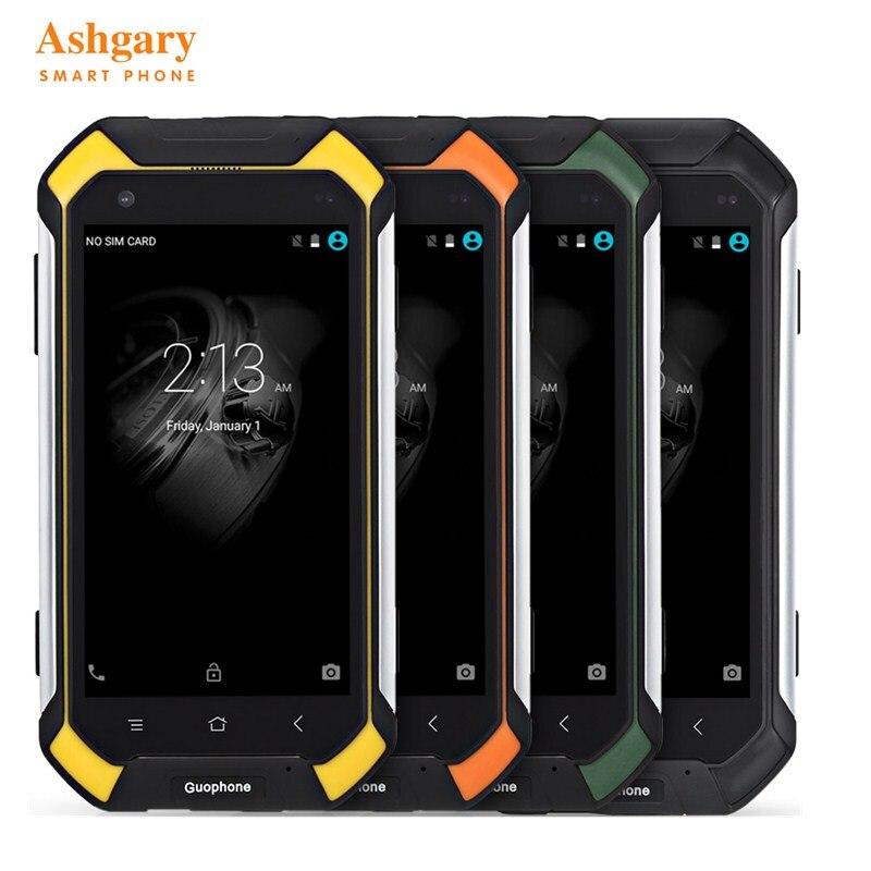 Guophone V19 4.5 pouces Android 5.1 3G téléphone intelligent IP68 étanche à la poussière et aux chocs MTK6580 Quad Core 2 GB RAM 16 GB ROM