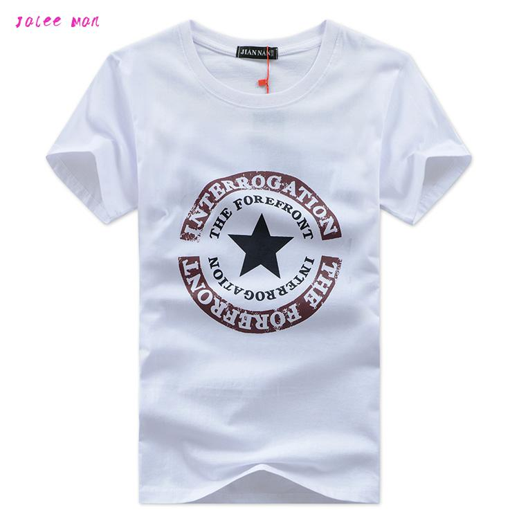 2017 Free Delivery  New Large Size Summer Brand T-shirt Man Round Collar Short Sleeve Fashion T Shirt Wholesale Short Sleeves