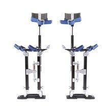 24 до 40 дюймов Профессиональный алюминиевый штукатурный stlt лестница Регулируемый гипсокартон Stilts краска инструмент для рисования аксессуар черный
