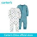 Carter 2 pcs Macacão de bebê das crianças das crianças Babysoft 126G268, vendido por carter oficial da China loja