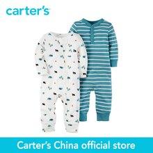 2 pcs bébé enfants enfants Babysoft Combinaisons de Carter 126G268, vendu par Carter de Chine boutique officielle