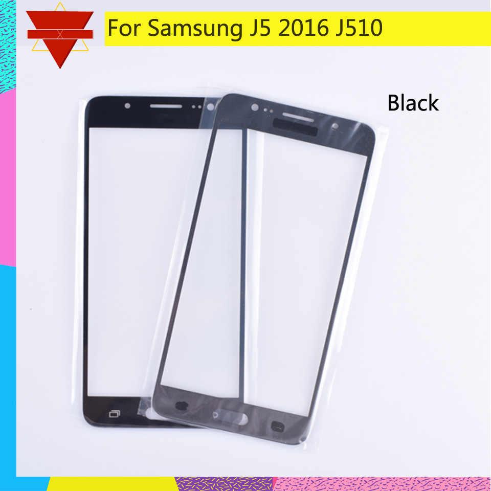 サムスンギャラクシー J5 2016 J510 J510FN J510F J510G J510Y J510M SM-J510F タッチスクリーンの前面ガラスパネルタッチスクリーン液晶外側