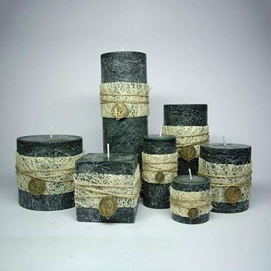 Aromathérapie sans fumée décoratif bougies parfumées Weding décoration noël anniversaire bougie cire Candele fête bougies 30C0008