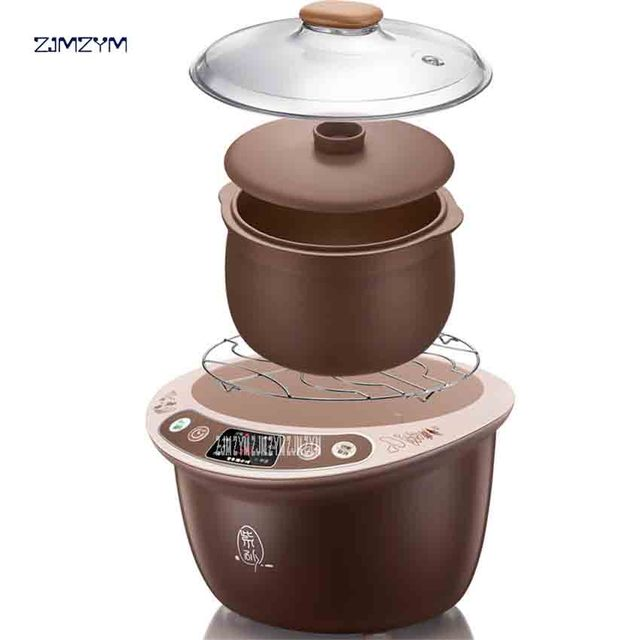 DDZ-A35M5 Electric Cooker Purple Sand Stew Pot Fully Automatic 220V