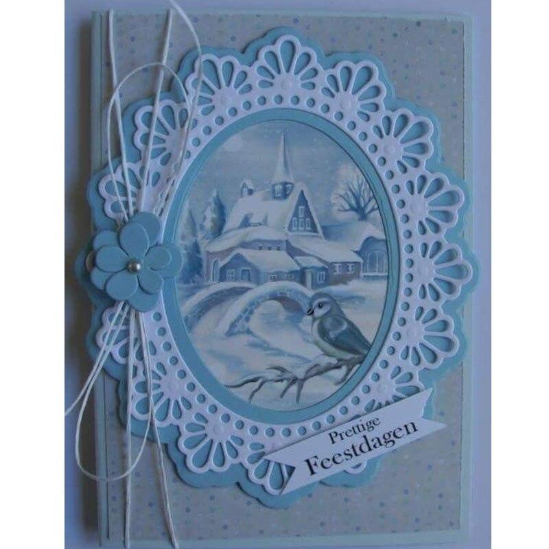 Металлический трафарет для Скрапбукинг DIY трафарет для открыток Craft умирает карты украшения Рождественский подарок DIY Рождество
