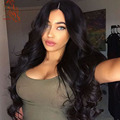 Fast Shipping Body Wave Full Lace Human Hair Wigs Thicker Peruvian Lace Front Human Hair Wigs With Baby Hair 8A Full Lace Wig