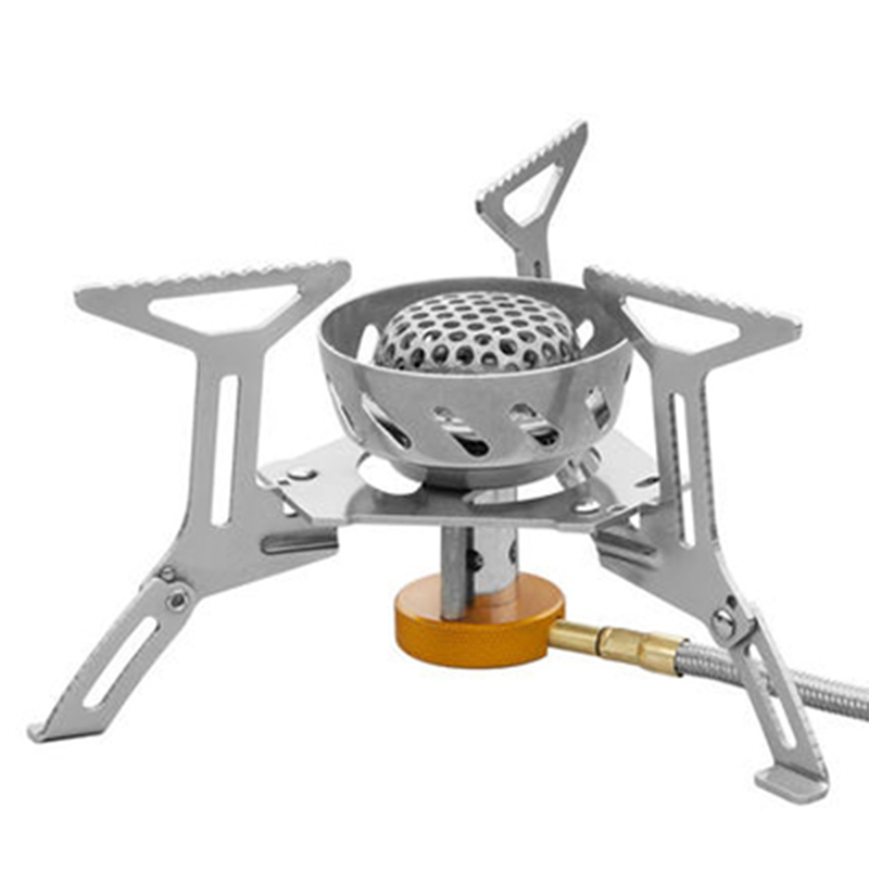 Fire Maple Stove Camping Windproof Gas Stove Outdoor Cooking Stove Camping Hiking Propane Stove FMS-121 305g 2900W+ fire maple personal cooking system outdoor hiking camping oven portable best propane gas stove burner fire maple fms x2